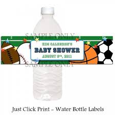 Baby The Places Youll Go Dr Seuss Baby Shower Water Bottle LabelsBaby Boy Shower Water Bottle Labels
