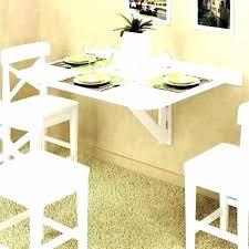 folding dining table on wall mounted kitchen beautiful idea floating foldi