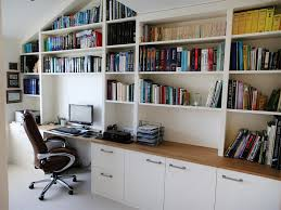 bespoke office desks. White Bespoke Fitted Home Office - Furniture Desks E