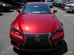 lexus is 250 2014 red. Simple 2014 2014 IS 250 F Sport AWD  Matador Red Mica  Black Photo 7 With Lexus Is