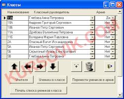 Автоматизированная система управления общеобразовательным  Дипломная работа ВКР ms access 2003