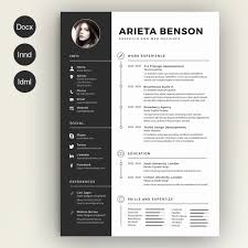Creative Resume Templates Free Download Microsoft Word Resume For