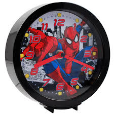 Marvel Bedroom Accessories Marvel Officially Licensed Dual Function Analog Clock