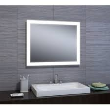 mirror with integrated lighting. Dipali LED Bathroom/Vanity Mirror With Integrated Lighting