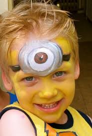 spiders face painting