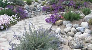 Small Picture Lay of the Landscape Mediterranean Garden Style