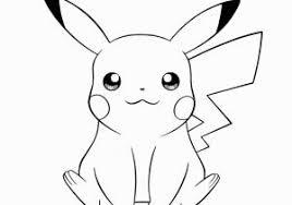 Pokemon Pikachu Coloring Pages Free Pikachu Coloring Sheets Free