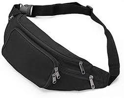 Amazon.com : SAVFY Bum <b>Waist Bag</b> - Black : <b>Sports</b> & <b>Outdoors</b>