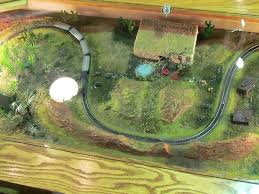 some smaller layouts coffee table model railroad train