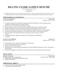 Retail Clerk Sample Resume Magnificent Resume Templates For Stock Clerk Multiusernet