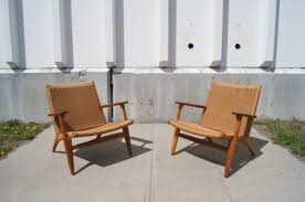 lounge chairs hans wegner. Pair Of CH-25 Easy Chairs By Hans Wegner For Carl Hansen \u0026 Son Lounge
