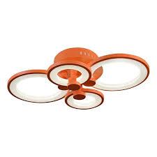 Потолочная светодиодная <b>люстра iLedex</b> Ring <b>A001</b>/<b>4</b> Orange ...