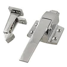sodial r stainless steel spring loaded walk in freezer cooler door handle latch