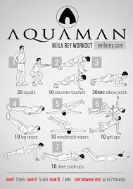 aquaman workout for swimmers