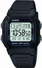 "casio sports watches watch shop comâ""¢ mens casio sports gear alarm chronograph watch w 800h 1aves"