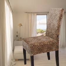 gold velvet font b leopard print all inclusive one piece about lovely designs animal print dining chair covers