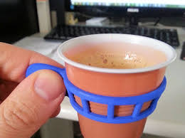 office coffee cups. espresso cup holder 3d printed my coffee at office with style cups