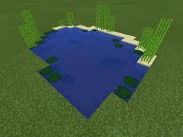 Image result for mine craft pond