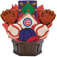 mlb1 chc mlb bouquet chicago cubs