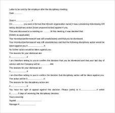 Hr Warning Letter Disciplinary Action Letter Template 30 Hr Warning Letters Pdf Doc