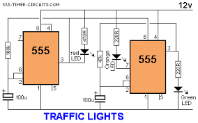 traffic lights circuit