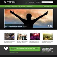 Templates For Websites Interesting Church Website Templates 28 Top Church Website Templates For