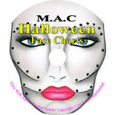 Details About 250 Mac Makeup Face Charts Halloween Costume Theatrical Seasonal Pictures On Cd