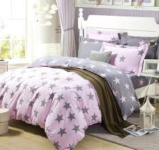 pink and gray bedding sets for peaceful