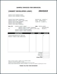 Sample Invoice Template Excel Of Free For Or Retail Format In Gst ...