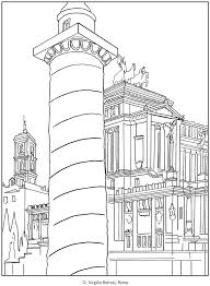 Small Picture Italy Travel Posters Coloring Book