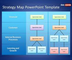 Free Strategy Map Powerpoint Template Is A Business Ppt Template