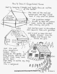 mockingbird drawing easy elegant how to draw a gingerbread house worksheet drawing