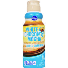 kroger white chocolate mocha coffee creamer
