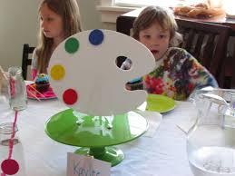 art party centerpiece parties children s party planner seattle