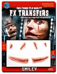 generic fx transfer smiley with blood makeup kit image 1 of 2