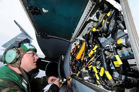 Aviation Electronics Technician Aviation Electronics Technician Performs Maintenance Flickr