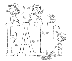 Small Picture Fall Coloring Pages Printable Free diaetme