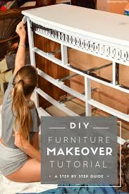 diy furniture makeover. DIY Furniture Makeover Tutorial - Pin Now, Makeover Your Furniture Later! Diy