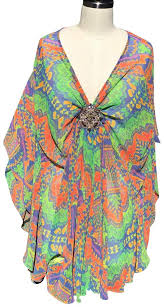 Shoshanna Multicolor Nwot With Embellished Accent Tunic Size 12 L 72 Off Retail