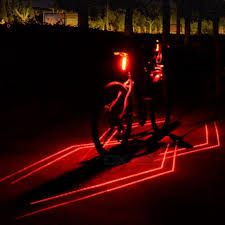 <b>Bicycle Headlight Taillight Rear Light</b> LED Waterproof Safe Warning ...