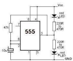 555 led flasher circuit diagram 555 image wiring 555 timer led flasher circuit electronic project on 555 led flasher circuit diagram
