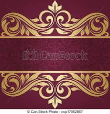 gold frame border vector. Wonderful Gold Gold Frame  Csp17062867 Throughout Frame Border Vector