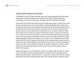 of mice and men essay topics co of