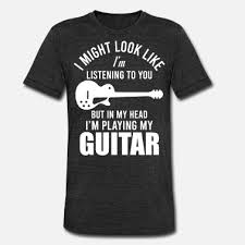 Gitarre Lustige Sprüche Musik Männer Premium T Shirt Spreadshirt