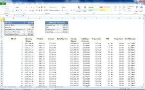 Interest Calculation Spreadsheet Mortgage Interest Calculator Spreadsheet The Completed Mortgage