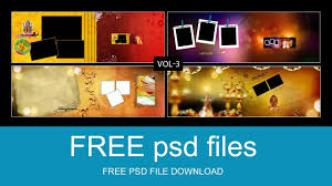 Psd Download Wedding Album 12x36 Backgrounds Fully Editable New Collection Psd
