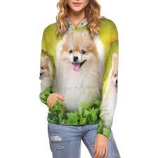 Amazon Com Interestprint Women Hoodies Sweatshirt Cute