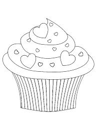 Cupcake Valentijn Kleurplaat Color Unsorted Cupcakes Cake