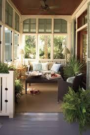 Stylish Porch Foyer