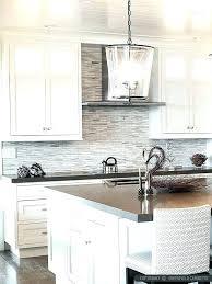 kitchen backsplash grey subway tile. Grey And White Kitchen Backsplash Contemporary  Plain Nice Gray Subway Tile